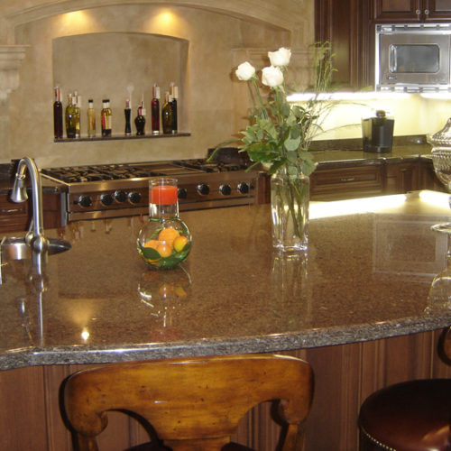 Brown Pearl Granite Counter top Ottawa