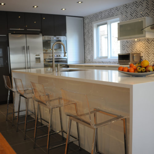 Caesarstone 1141 Pure White Counter top Ottawa
